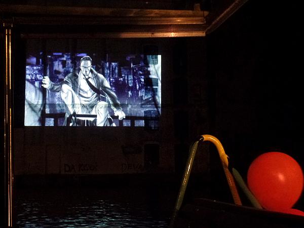 Mangafilm an der ehemaligen Mehlfabrik bei Schemerstad Leiden
