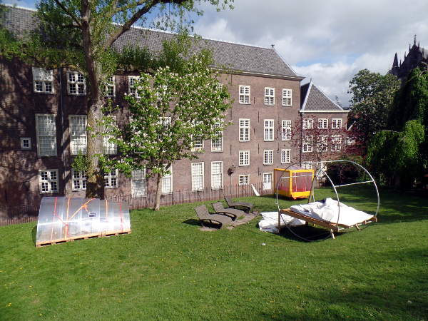 Freilufthotel in Leiden