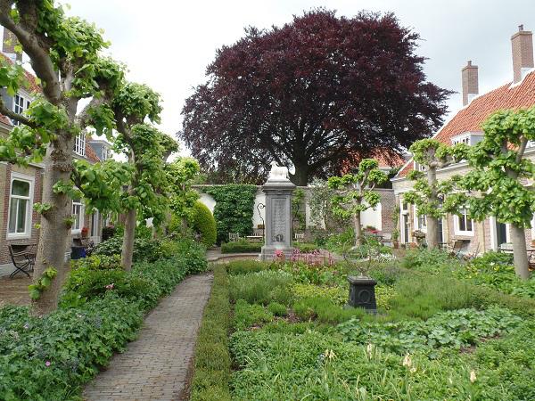 hofje in Leiden