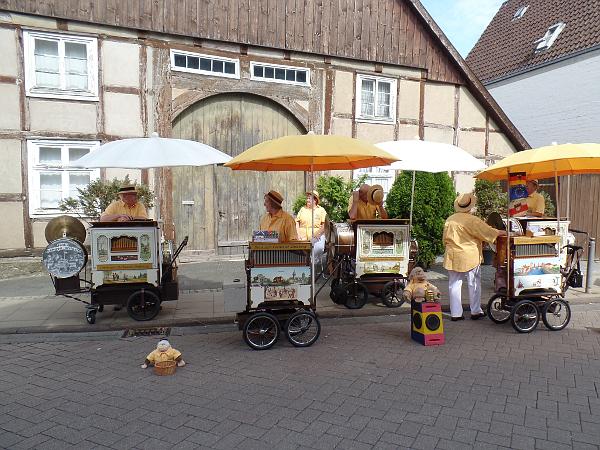 Drehorgel-Orchester Duisburg auf dem Käsemarkt in Nieheim