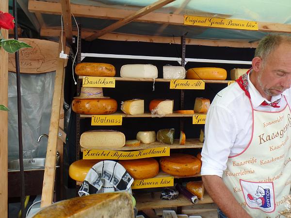 der niederländische Käse ist auch auf dem Käsemarkt in Nieheim vertreten