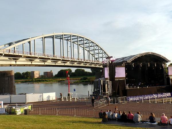 Vorbereitung Bridge to Liberation Experience in Arnhem