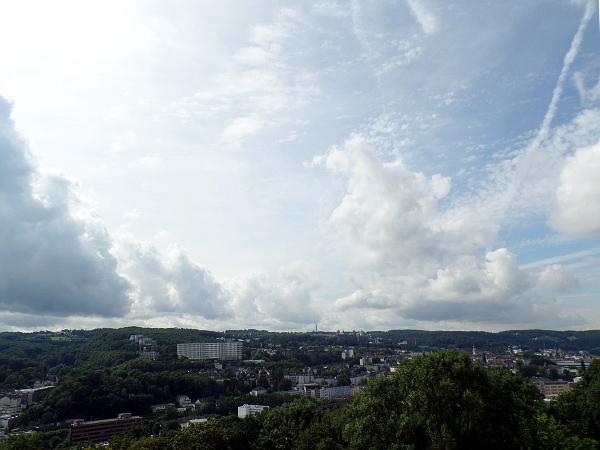 uitkijk vanuit de Elisenturm in Wuppertal