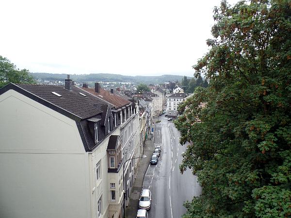 uitkijk van de Nordbahntrasse in Wuppertal