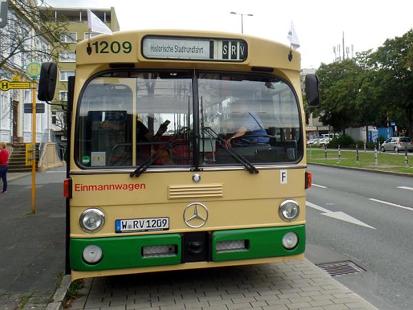 Oldtimerbustour in Wuppertal