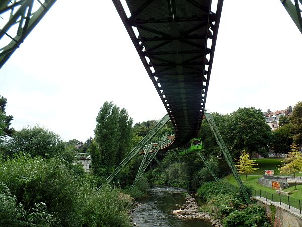 Schwebebahn Zweefbaan in Wuppertal
