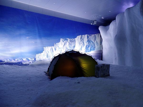 Antarktis im Klimahaus 8 Grad Ost