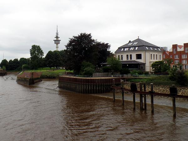die Trockendocks an der Geeste in Bremerhaven