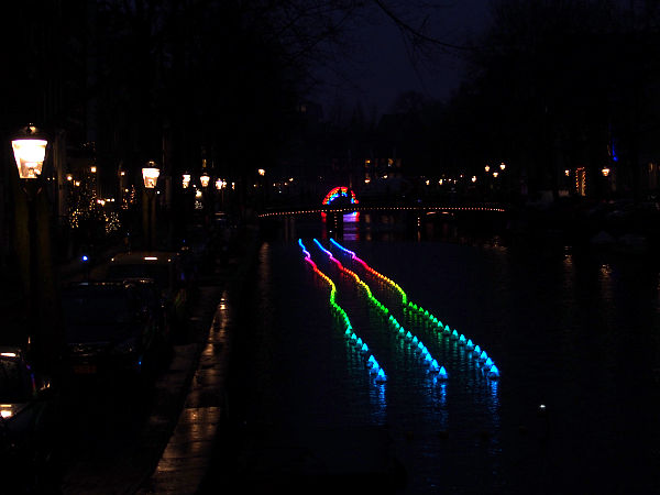 Bridge of the rainbow & Flower Strip, Amsterdam Light 2016/17