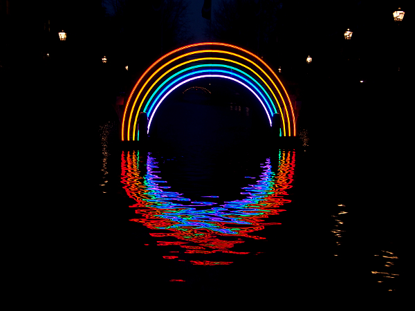 Bridge of the rainbow, Gilbert Moity, Amsterdam Light 2016/17