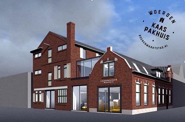 Kaaspakhuis in Woerden