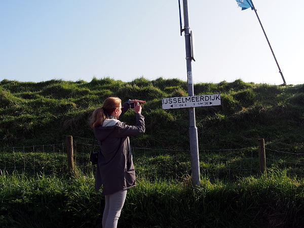 Ijsselmeerdijk in Laag Holland