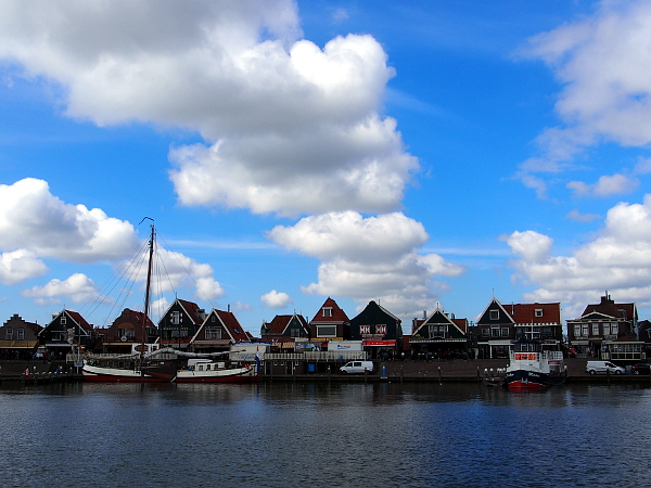 Volendam in Laag Holland