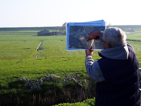 De Breek - der niedrigste Punkt von Nord-Holland