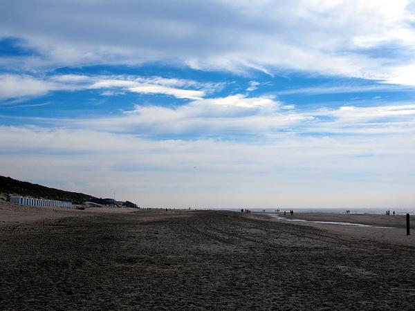 am Strand von De Koog auf Texel