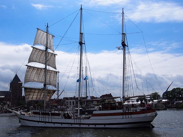 Segelschiff auf den Hanzedagen & Hanse 2017