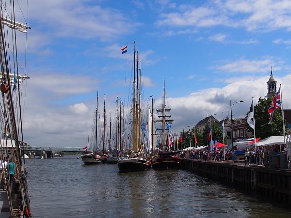 Rundfahrt auf dem Segelschiff Summertime während der Hanse 2017