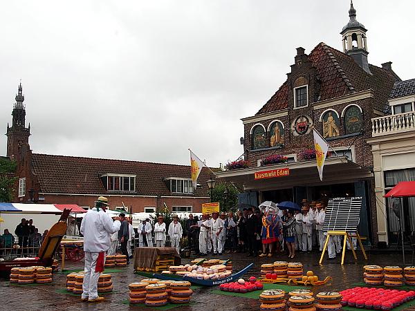 Käsemarkt in Edam