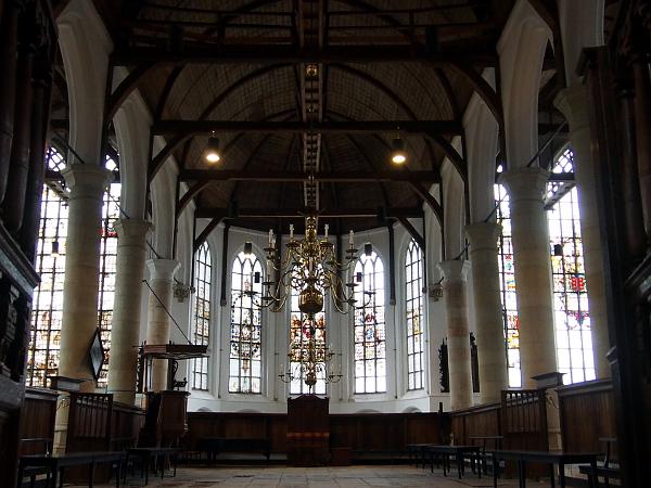 in der Grote Kerk in Edam
