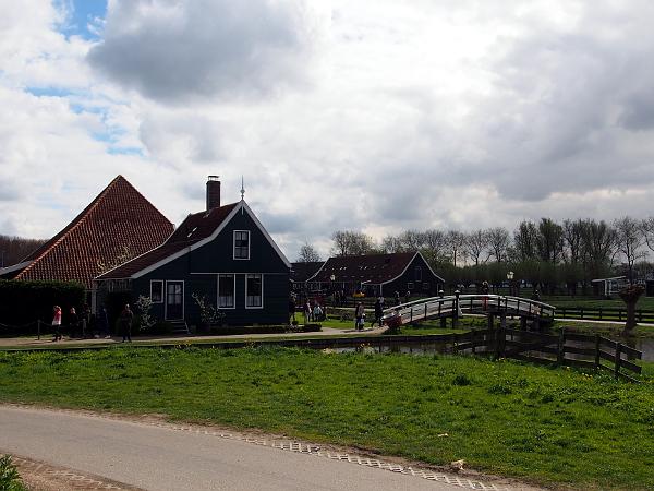 Rundgang durch das Freiluftmuseum Zaanse Schans