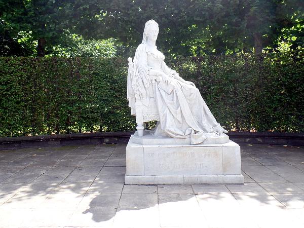 Sophie von der Pfalz in Herrenhausen