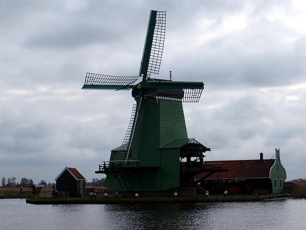 Windmühle an der Zaanse Schans