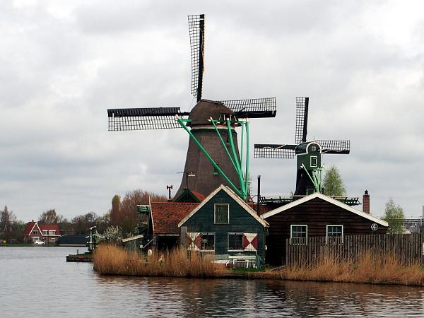 Windmühlen an der Zaanse Schans
