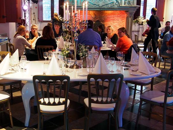 Popup-Dinner im Markiezenhof in Bergen op Zoom