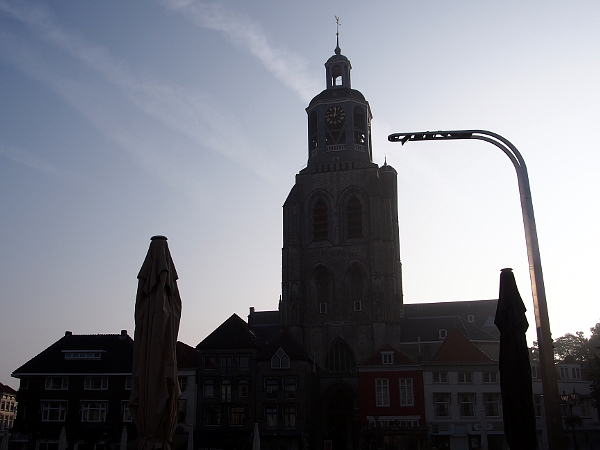 Sonnenaufgang in Bergen op Zoom
