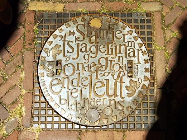 während der BrabantNacht ab in die Kanalisation von Bergen op Zoom