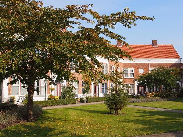 Huize Gertrudis - einziger hofje in Bergen op Zoom