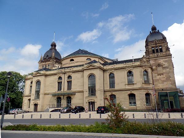 historische Stadthalle in Wuppertal