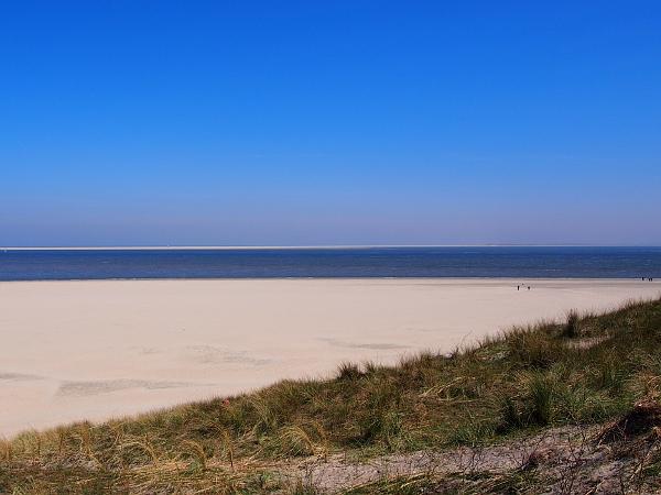 Blick von Texel nach Vlieland