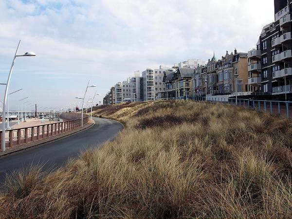 auf diesem Hügel zeichnete Mesdag sein Panorama