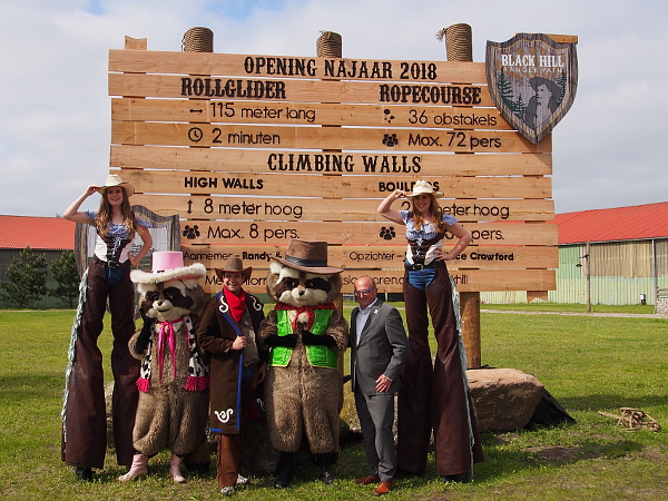 55 Jahre Freizeitpark Slagharen: Black Hill Ranger Path
