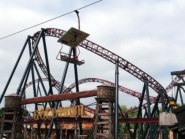 55 Jahre Freizeitpark Slagharen: Gold Rush