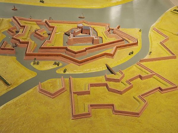Erfgoedfestival 2018: Stadtmodell von Gennep