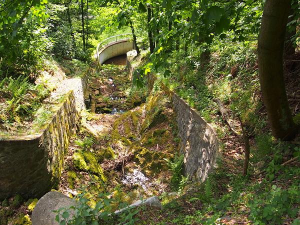 ehemaliger Abfluß der Eschbachtalsperre in Remscheid