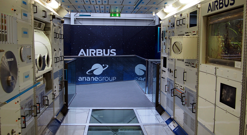 Columbus Lab ISS Airbus Space Bremen