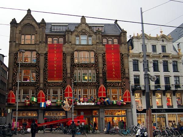 Residenz von Sinterklaas in Amsterdam