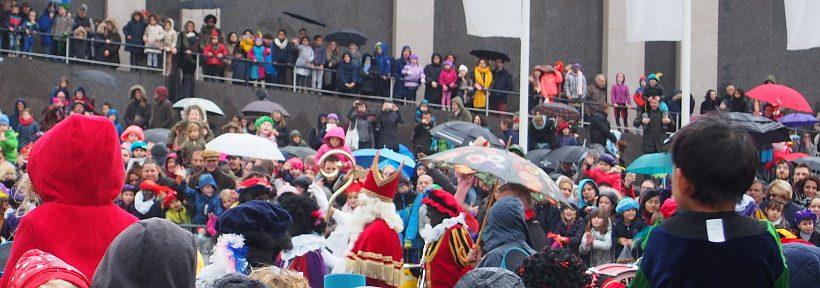 Ankunft von Sinterklaas in Nijmegen