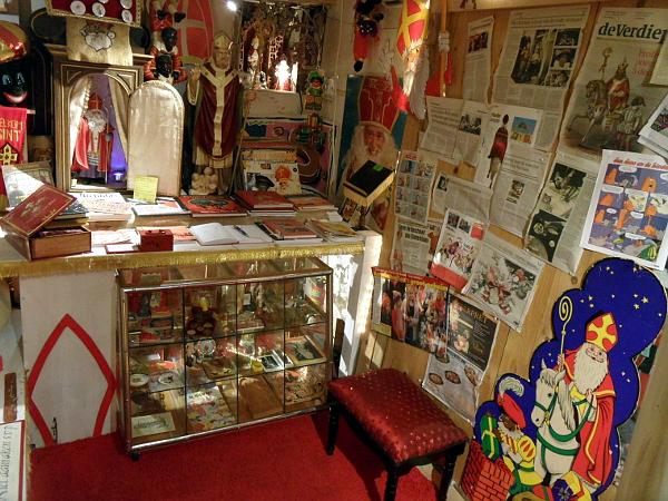 Rundblick im Sinterklaasmuseum Zwolle