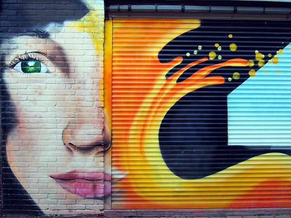 Streetart in Hengelo