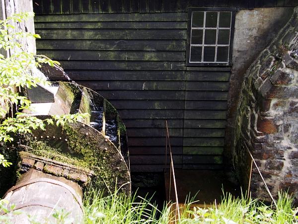 Wasserrad vom Steffenshammer in Remscheid