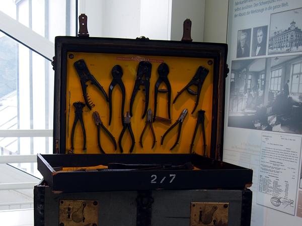 im Werkzeugmuseum in Remscheid