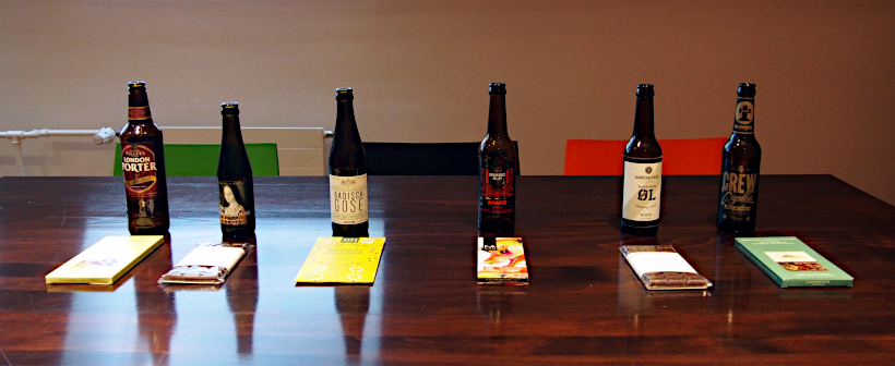Craft Beer & Schokolade Tasting im Schokoladenmuseum