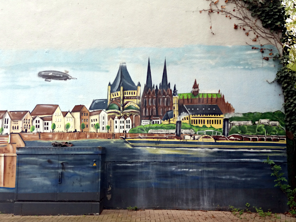 Kölner Streetart in Ehrenfeld