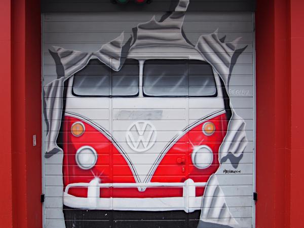 Streetart im Belgischen Viertel
